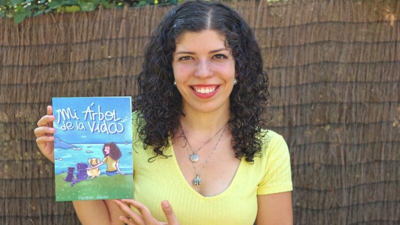 Este jueves Paloma Silva presenta su libro solidario Mi Árbol de la Vida
